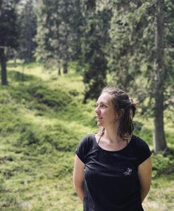 Waldbaden mit Franziska im CASAMARAI Saalbach Hinterglemm